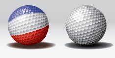 Golf ball-Holland