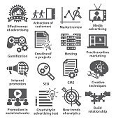 Business management icons. Pack 05.