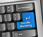 Keyboard Illustration Solomo Marketing