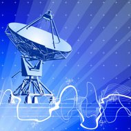 dishes antenna & digital wave
