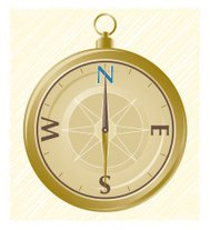 Compass with Direction
