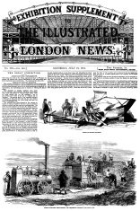 The Great Exhibition 1851 - Illustrated London News front cover
