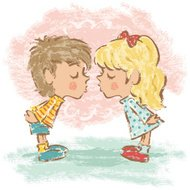 Love of boy and girl