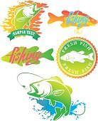 logo bass fish