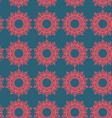 Seamless pattern vector illustration of geometric shapes
