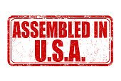 Assembled in USA stamp