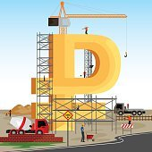 structure building of Russian Ruble