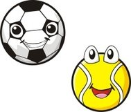Happy Soccer and Tennis