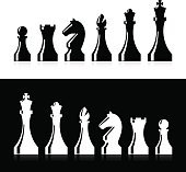 Chess pieces icons