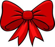 Cartoon Ribbon Bow