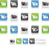 Folder Icons Set 2 of 2 - Clean Series