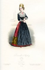 Young Lady of Augsburg Period Costume