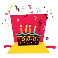 Musicale Pop Up Card compleanno