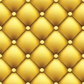 Seamless pattern. Retro luxury background. Leather upholstery.
