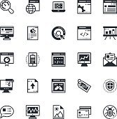SEO and Marketing Colored Vector Icons 1