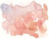 watercolor textures in red brown tones