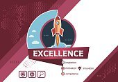 Excellence design concepts for business analysis, planning.