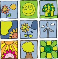Growth and nature icons