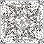 exquisite Mandala background
