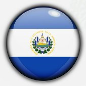 Shine button flag - Salvador