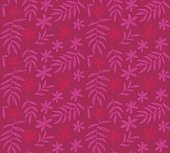 bright pink vector seamless pattern of tropical floral