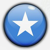 Shine button flag - Somalia