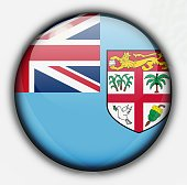 Shine button flag - Fiji