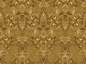 Luxury floral damask wallpaper. Seamless pattern background. Vector illustration