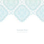 Vector ornate border background