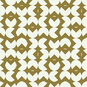 Graphic simple ornamental tile, vector repeated pattern