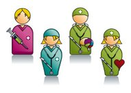 Professions Series with Various Medical People