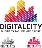 Digital City Vector Logo