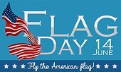 Design to Celebrate American Flag Day in June 14