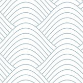 Abstract Wave Lines Seamless Pattern