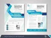 Brochure modèle de conception