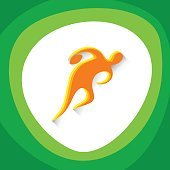 Rugby Player Sport Competition Icon