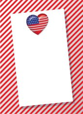 Patriotic Love Letterhead