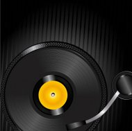 Turntable background