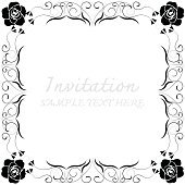 Vector decorative frames