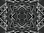 Background tribal black white ornament ethnic texture 1