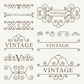 ornament vintage design