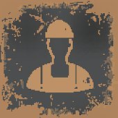 Engineer design on grunge background,vector