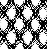 Abstract geometric pattern. Seamless line ornament. Ornamental background.